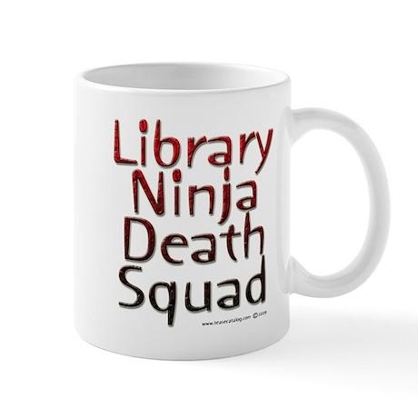 Ninja Librarian Mug