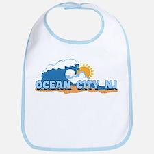 Ocean City NJ - Waves Design Bib