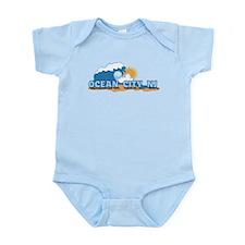 Ocean City NJ - Waves Design Infant Bodysuit