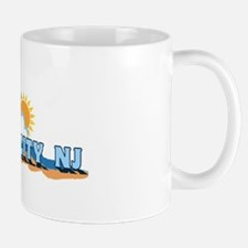 Ocean City NJ - Waves Design Mug