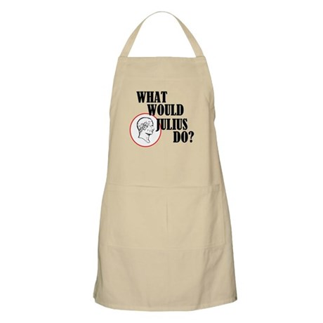 What Would Julius Do? Apron