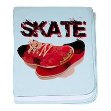 Skate baby blanket
