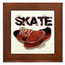 Skate Framed Tile