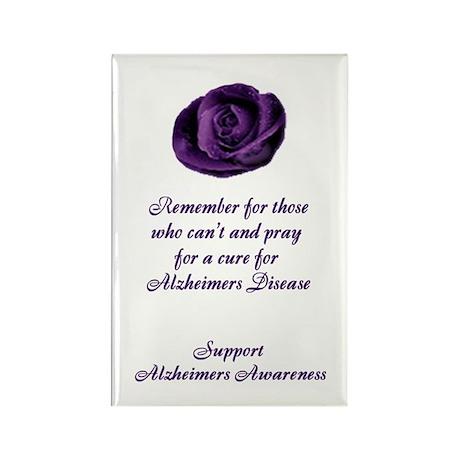 Alzheimers Rectangle Magnet (10 pack)