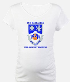DUI - 1st Bn - 23rd Infantry Regt with Text Matern