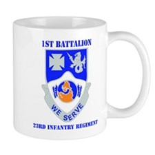 DUI - 1st Bn - 23rd Infantry Regt with Text Mug
