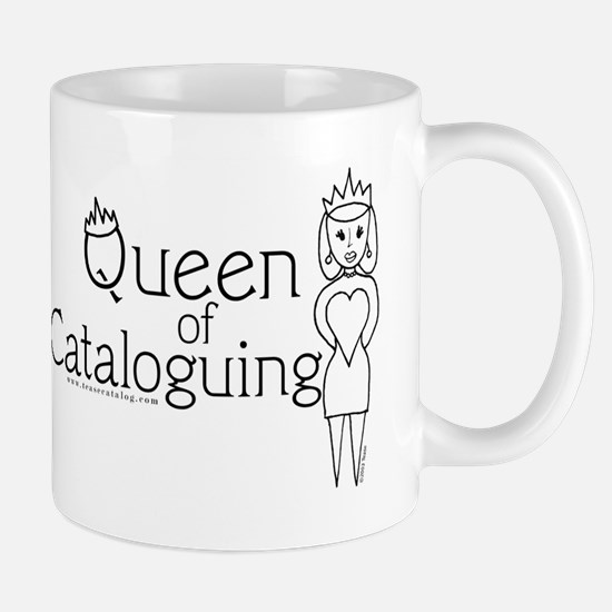 Unique Cataloging Mug