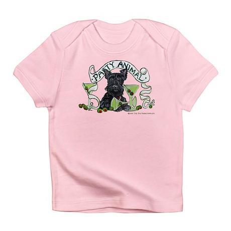 Scottish Terrier Martinis Infant T-Shirt