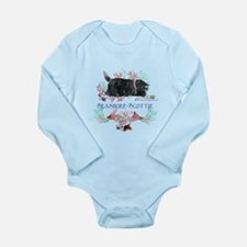 Seashore Scottie Island Dog Long Sleeve Infant Bod