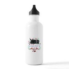 Seashore Scottie Island Dog Water Bottle