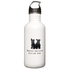 Scottish Terriers Best Dad Pu Water Bottle
