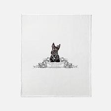 Scottish Terrier Friend Throw Blanket