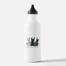 Scottish Terrier Trio Sports Water Bottle