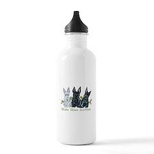Scottish Terrier Trio Water Bottle