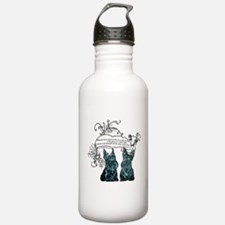 Scottish Terrier Proverb Water Bottle