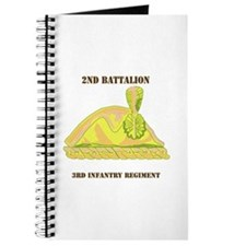 DUI - 2nd Bn - 3rd Infantry Regt with Text Journal