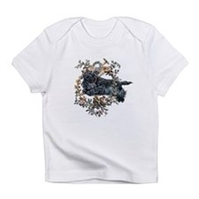 Scottish Terrier Wreath Infant T-Shirt