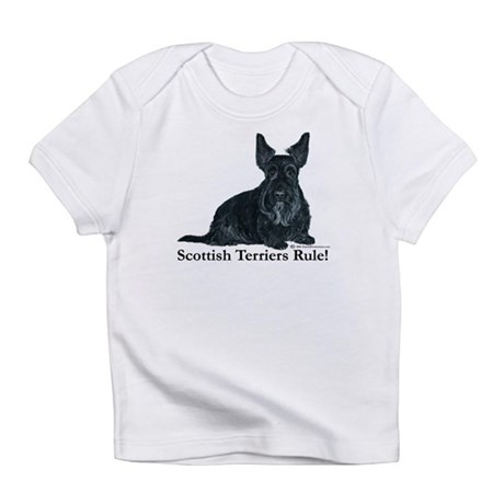 Scottish Terriers Rule! Infant T-Shirt