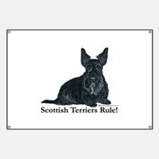 Scottish Terriers Rule! Banner