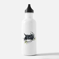 Super Scottih Terrier Water Bottle