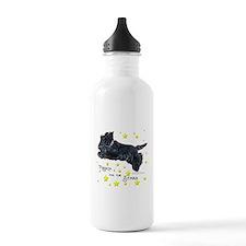 Scottish Terrier Star Water Bottle