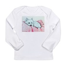Napping Westie Long Sleeve Infant T-Shirt