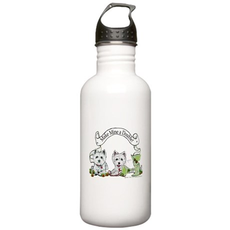 West Highland Happy Hour! Stainless Water Bottle 1