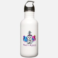 Westie Party Celebration Water Bottle