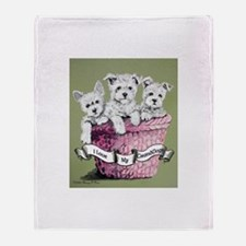 GrandDogs!!! Throw Blanket