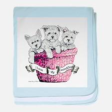 GrandDogs!!! baby blanket