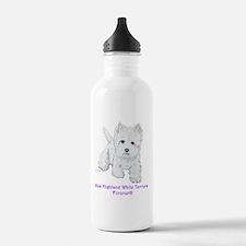 Westies Forever!! Sports Water Bottle