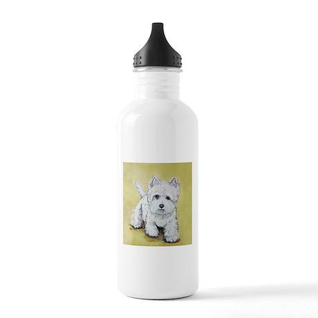 Westie Attitude Stainless Water Bottle 1.0L