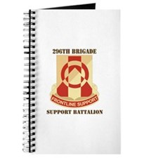 DUI - 296th Bde - Support Bn with Text Journal