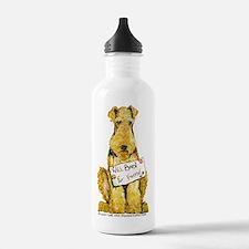 Airedale Welsh Lakeland Terri Sports Water Bottle