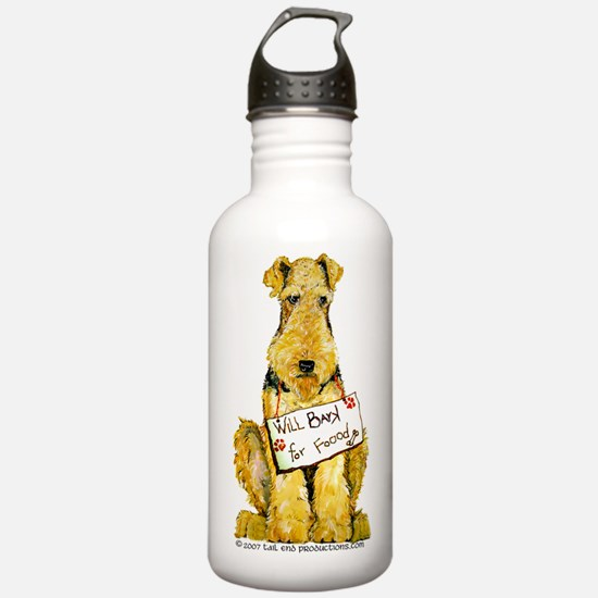 Airedale Welsh Lakeland Terri Water Bottle