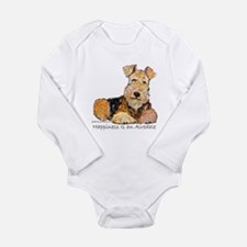 Airedale Happiness Onesie Romper Suit