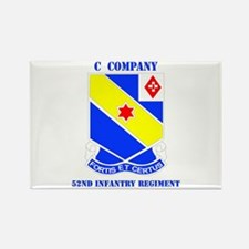 DUI - C Company - 52nd Infantry Regt with Text Rec
