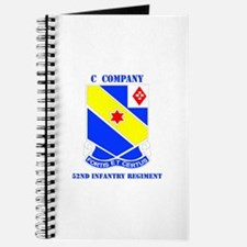 DUI - C Company - 52nd Infantry Regt with Text Jou