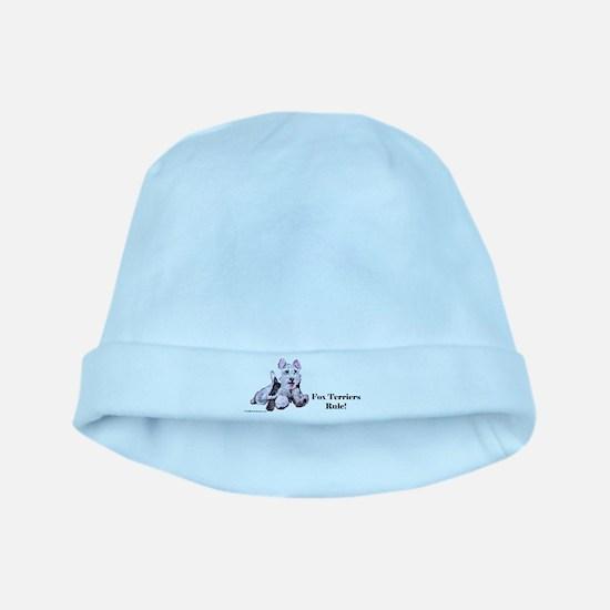 Fox Terrier Agility Dog baby hat