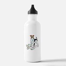 Fox Terrier Good Dog Water Bottle