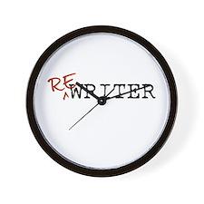 Re-Writer Wall Clock