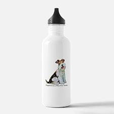 Fox Terrier Happiness Water Bottle