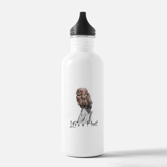 Little Hoot Owl Water Bottle