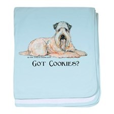 Wheaten Terriers Cookie Dogs baby blanket