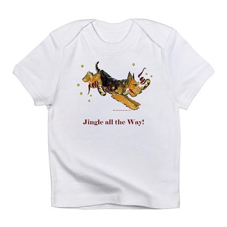 Welsh Terrier Holiday Dog! Infant T-Shirt