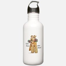Welsh Terrier Bite! Water Bottle