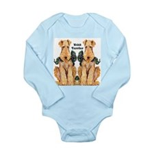 Welsh Terrier Onesie Romper Suit