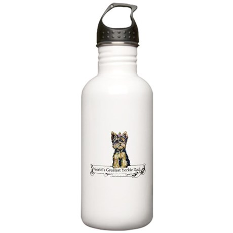 Yorkshire Terrier Dad! Stainless Water Bottle 1.0L