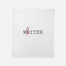 Writer-Waiter Throw Blanket