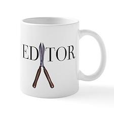 Editor—Hedge Shears Mug